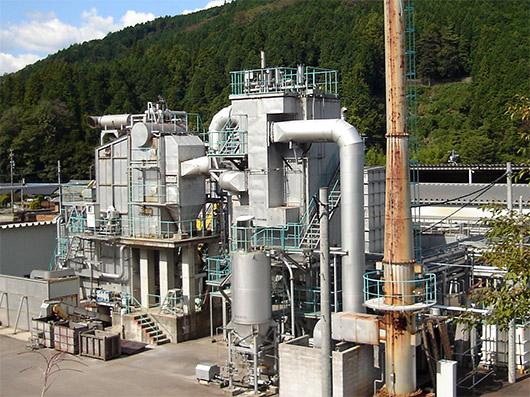森の発電所